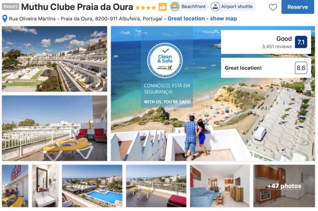 Algarve - Albufeira - Praia da Oura
