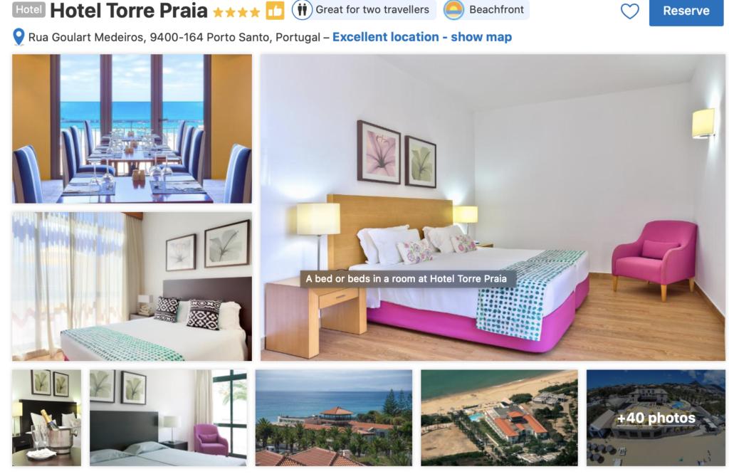 Voo + Hotel a Ilha Porto Santo | Hotel Torre Praia 4*